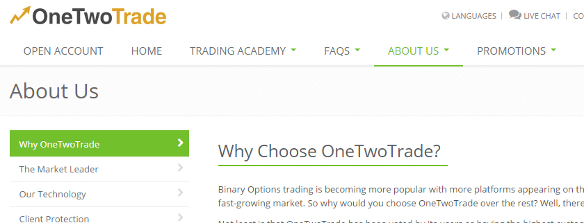 OneTwoTrade Review