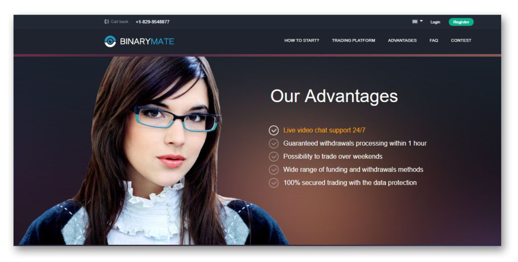 BinaryMate, Guaranteed Processing of Withdrawals Within the